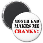 Accounting & Finance Month End Approval Stamp 6 Cm Round Magnet