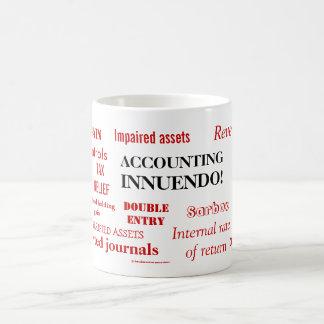 Accounting Innuendo ! Basic White Mug