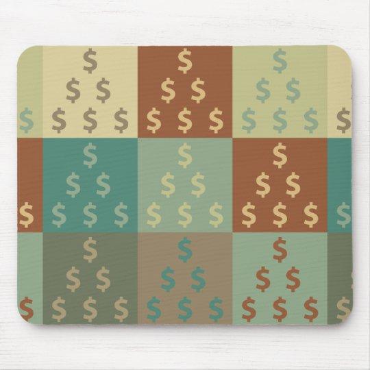 Accounting Pop Art Mouse Mat