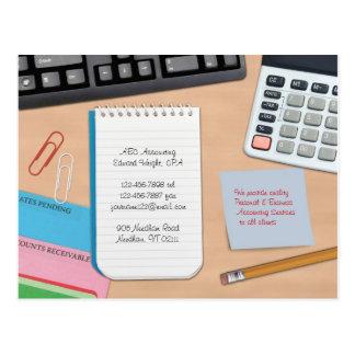 Accounting Postcard