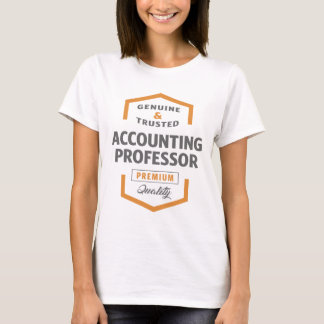 Accounting Professor T-Shirt