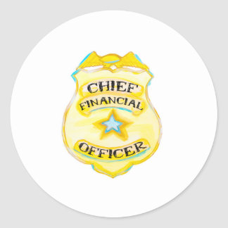Accounting Sticker Finance Sticker CFO Badge