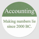 Accounting Stickers