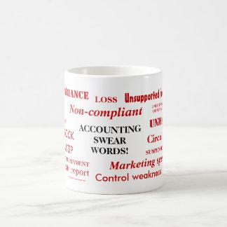 Accounting Swear Words! Annoying Joke Mug
