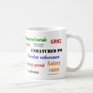 Accounting Swear Words!! Basic White Mug