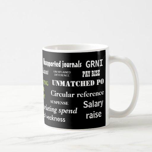 Accounting Swear Words!! Coffee Mugs