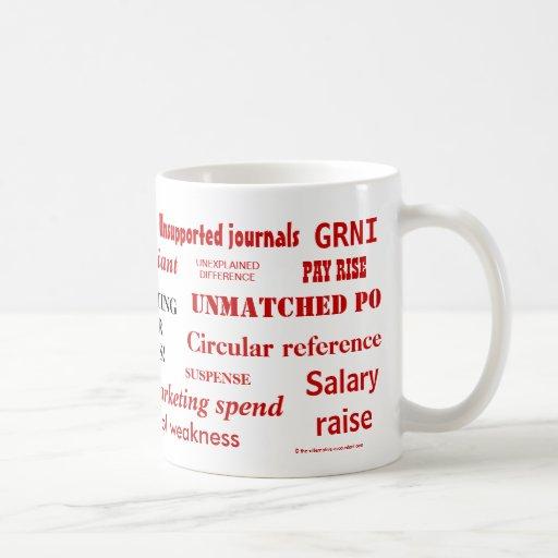 Accounting Swear Words!! Rude Mug