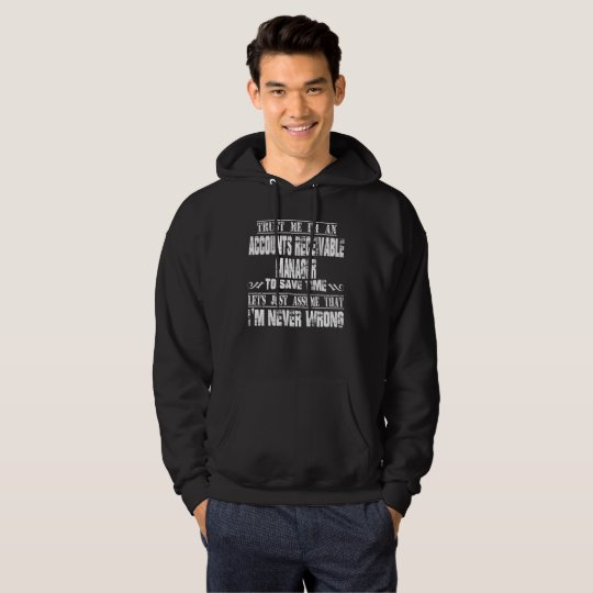 ACCOUNTS RECEIVABLE MANAGER HOODIE