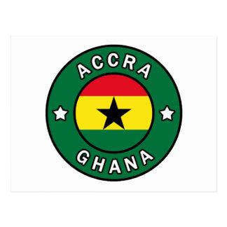 Accra Ghana Postcard