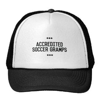 Accredited Soccer Gramps Men's Tee Trucker Hat