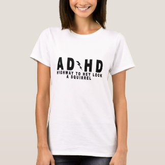 ACDC ADHD Highway to Hey Look a Squirrel! tee MN.p