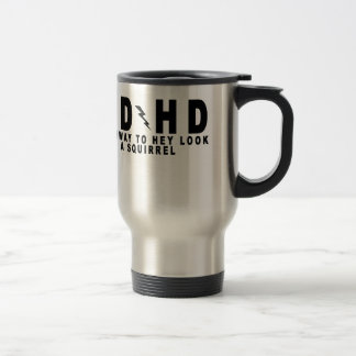 ACDC ADHD Highway to Hey Look a Squirrel! tee MN.p Travel Mug