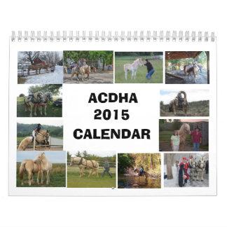 ACDHA 2015 Calendar