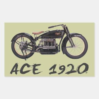 Ace 1920 rectangular sticker
