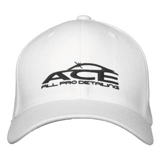 Ace All Pro - Detailer Hat Embroidered Baseball Cap
