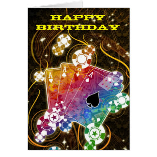Ace Birthday card