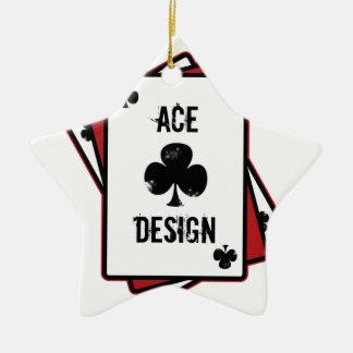 Ace Design Ceramic Star Decoration