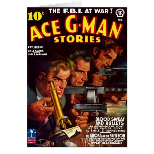 Ace G-Man Stories Card