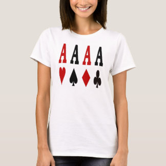 Ace Girl Poker Ladies Spaghetti Top
