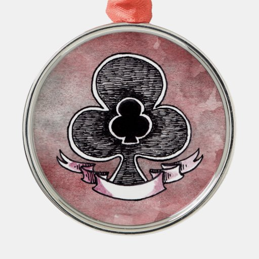 Ace of Clubs Ornaments