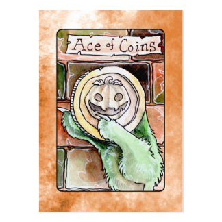 Ace of Coins Business Card