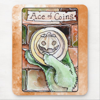 Ace of Coins Mouse Pad