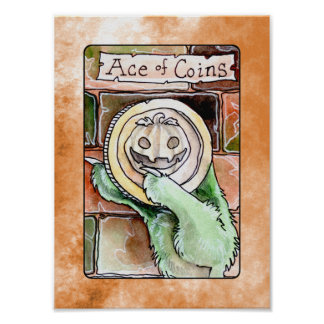 Ace of Coins Poster