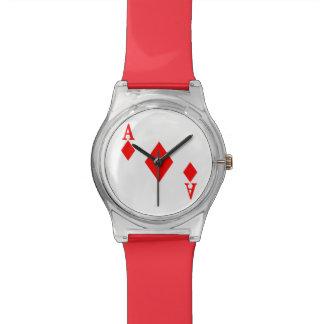Ace of Diamonds Wristwatch