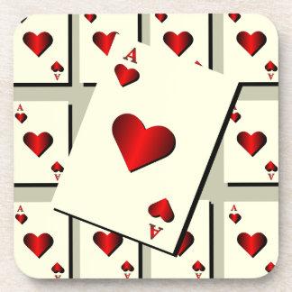 Ace Of Hearts Coaster