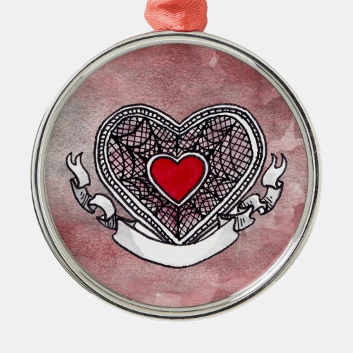 Ace of Hearts Ornament