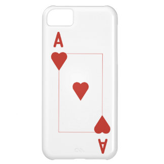 Ace of Hearts iPhone 5, Barely There iPhone 5C Case