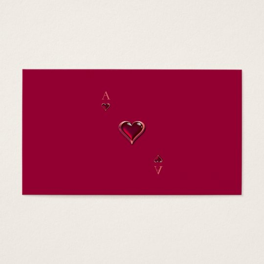 Ace of Hearts Personal/Business Cards