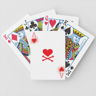 Ace of Hearts Playing Card Backs