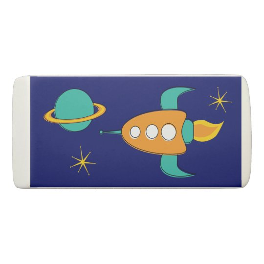 Ace of space rectangular eraser