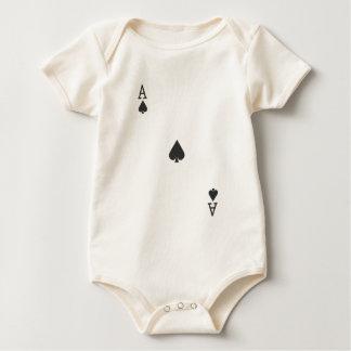 Ace of Spade Baby Bodysuit