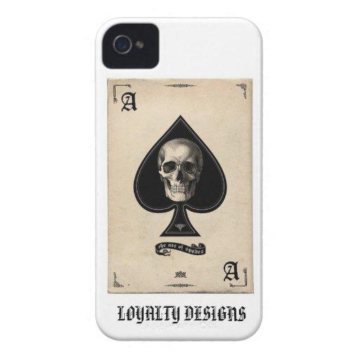 ACE OF SPADE iPhone 4 CASE
