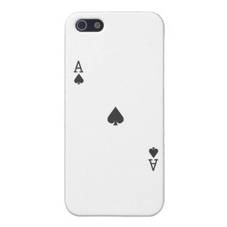 Ace of Spade iPhone 5/5S Case