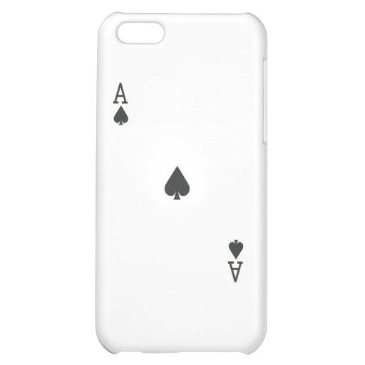Ace of Spade iPhone 5C Case