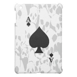 Ace of Spades and Skull iPad Case