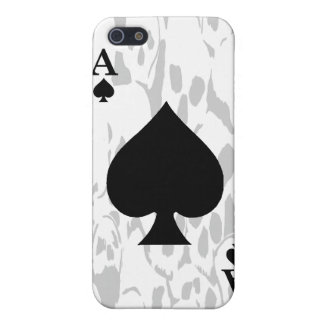 Ace of Spades and Skull iPhone Case Case For iPhone 5/5S