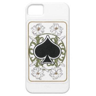 Ace of Spades Art Nouveau-style iPhone 5 Case