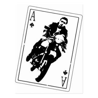 Ace of Spades Cafe Racer Postcard