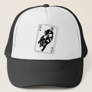 Ace of Spades Cafe Racer Trucker Hat