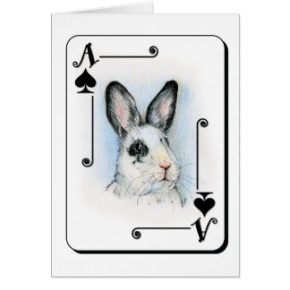 Ace of Spades Stationery Note Card