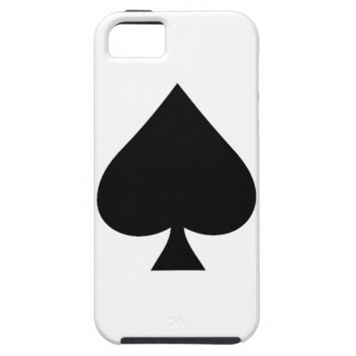 Ace of spades iPhone 5 cases