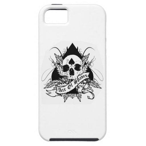 Ace of spades iPhone 5 covers