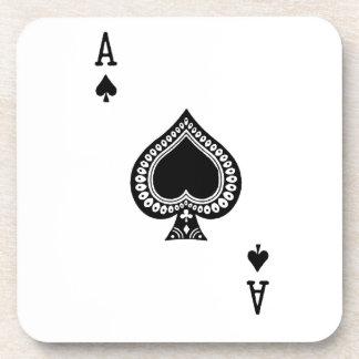 Ace of Spades coaster