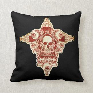 Ace of spades cushion