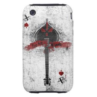 ace of spades custom ipod case tough iPhone 3 cases