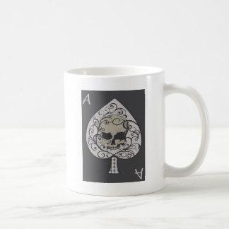 Ace of Spades Decorative Skull Coffee Mug
